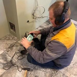 Пошук витоків води в квартирах і будинках